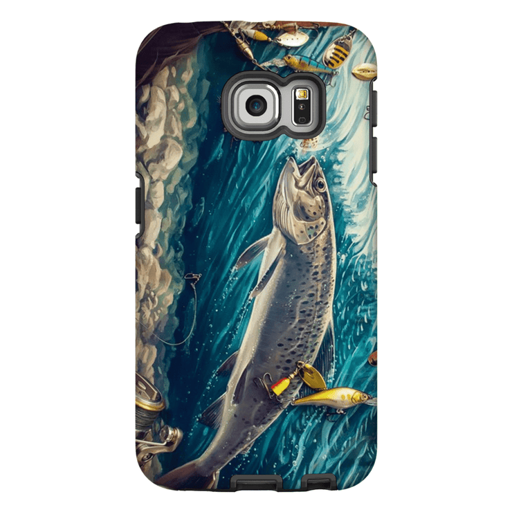 Trout Fish Galaxy S6 Edge and S6 Edge Plus Tough Case - Purdycase