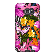 Tropical Butterfly Galaxy S6 Edge and S6 Edge Plus Tough Case - Purdycase