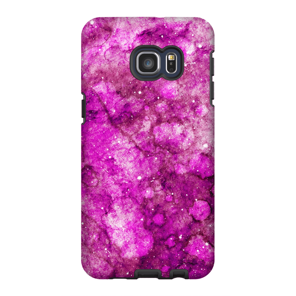 Pink Galaxy S6 Edge and S6 Edge Plus Tough Case - Purdycase