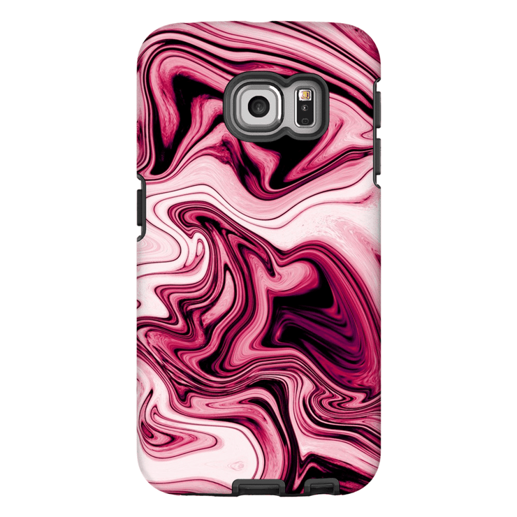 Dark Marble Galaxy S6 Edge and S6 Edge Plus Tough Case - Purdycase