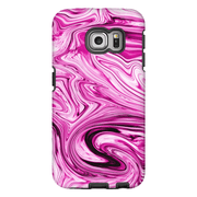 Pink Marble Galaxy S6 Edge and S6 Edge Plus Tough Case - Purdycase