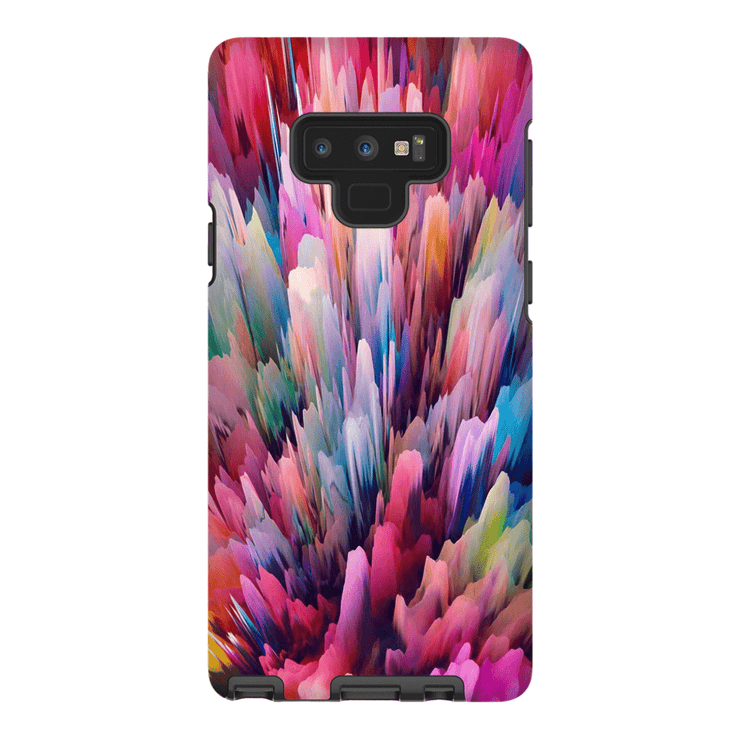 Multi-Color Abstract Galaxy Note 8 and 9 Tough Case - Purdycase