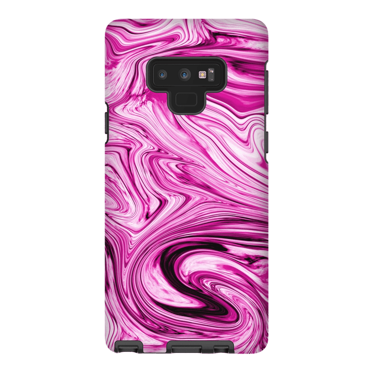 Pink Marble Galaxy Note 8 and 9 Tough Case - Purdycase