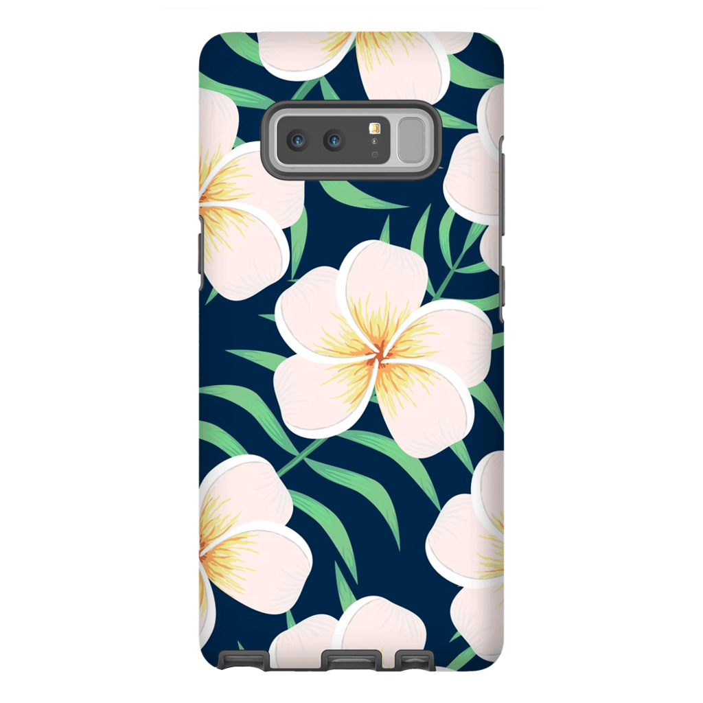 Plumeria Galaxy Note 8 and 9 Tough Case - Purdycase