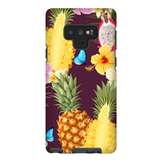 Tropical Pineapple Galaxy Note 8 and 9 Tough Case - Purdycase
