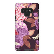 Purple Rose Galaxy Note 8 and 9 Tough Case - Purdycase