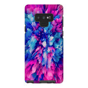 Pink Blue Abstract Galaxy Note 8 and 9 Tough Case - Purdycase