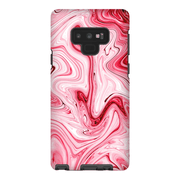 Pink Drizzle Marble Galaxy Note 8 and 9 Tough Case - Purdycase