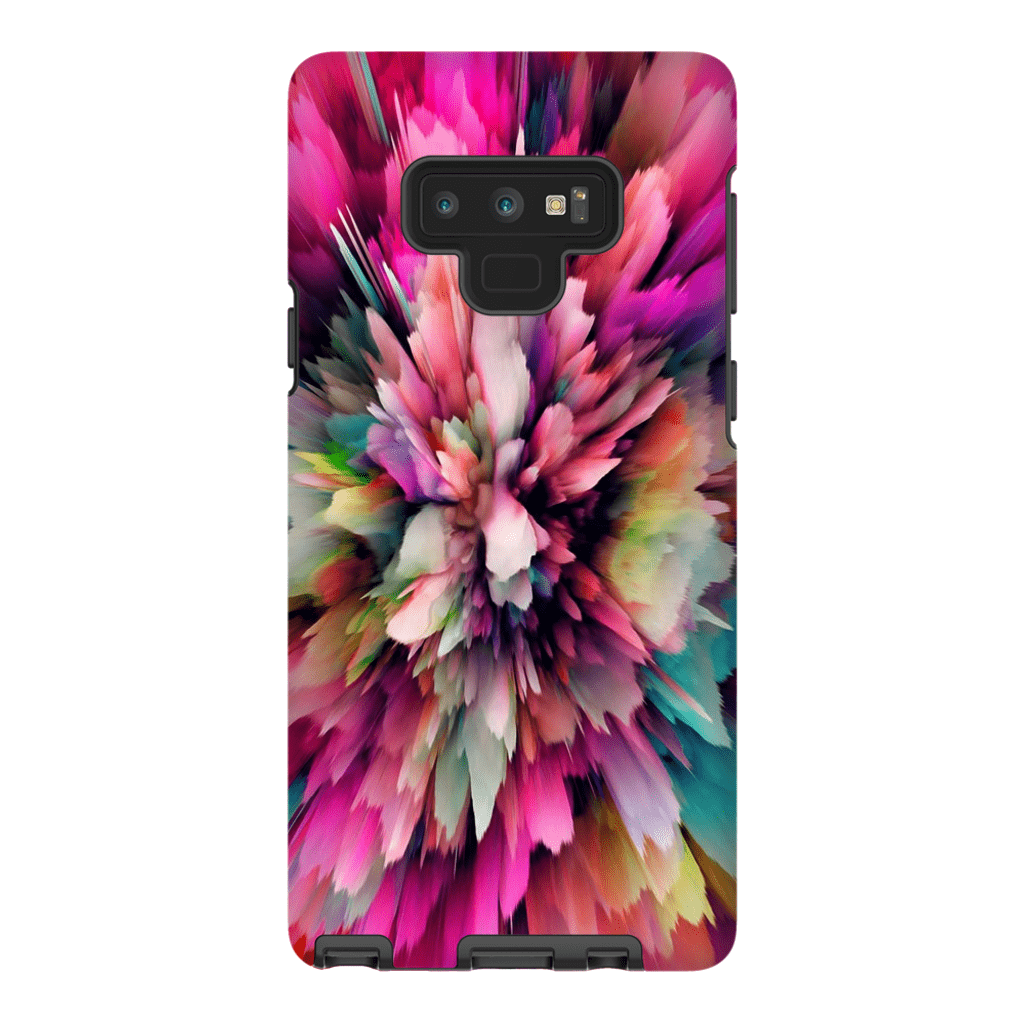 Pink Cloud Abstract Galaxy Note 8 and 9 Tough Case - Purdycase