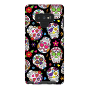 Black Sugar Skulls Galaxy Note 8 and 9 Tough Case - Purdycase