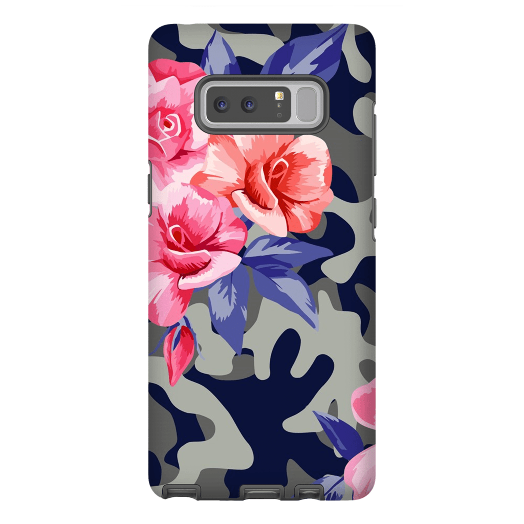 Pink Camo Galaxy Note 8 and 9 Tough Case - Purdycase