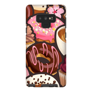 Pink Donuts Galaxy Note 8 and 9 Tough Case