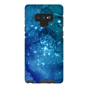 Blue Space Galaxy Note 8 and 9 Tough Case - Purdycase