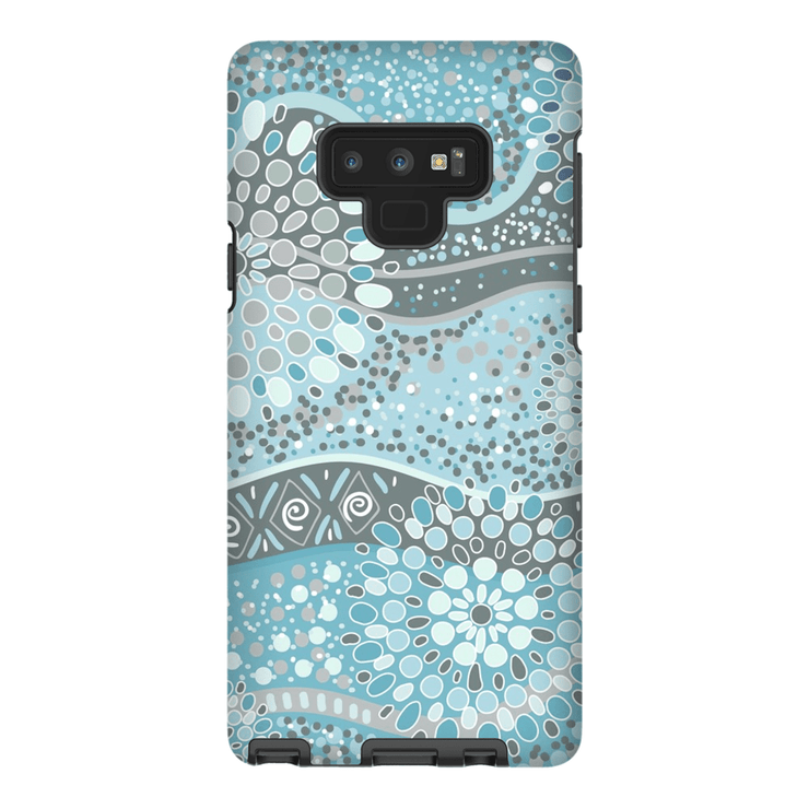 Turquoise Mandala Galaxy Note 8 and 9 Tough Case - Purdycase