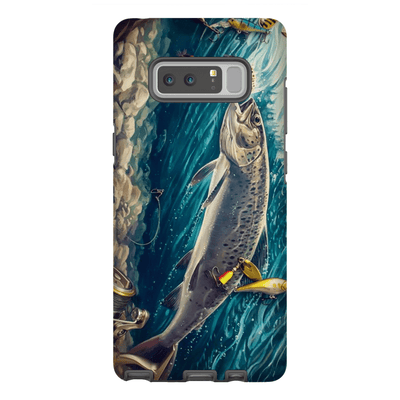 Trout Fish Galaxy Note 8 and 9 Tough Case