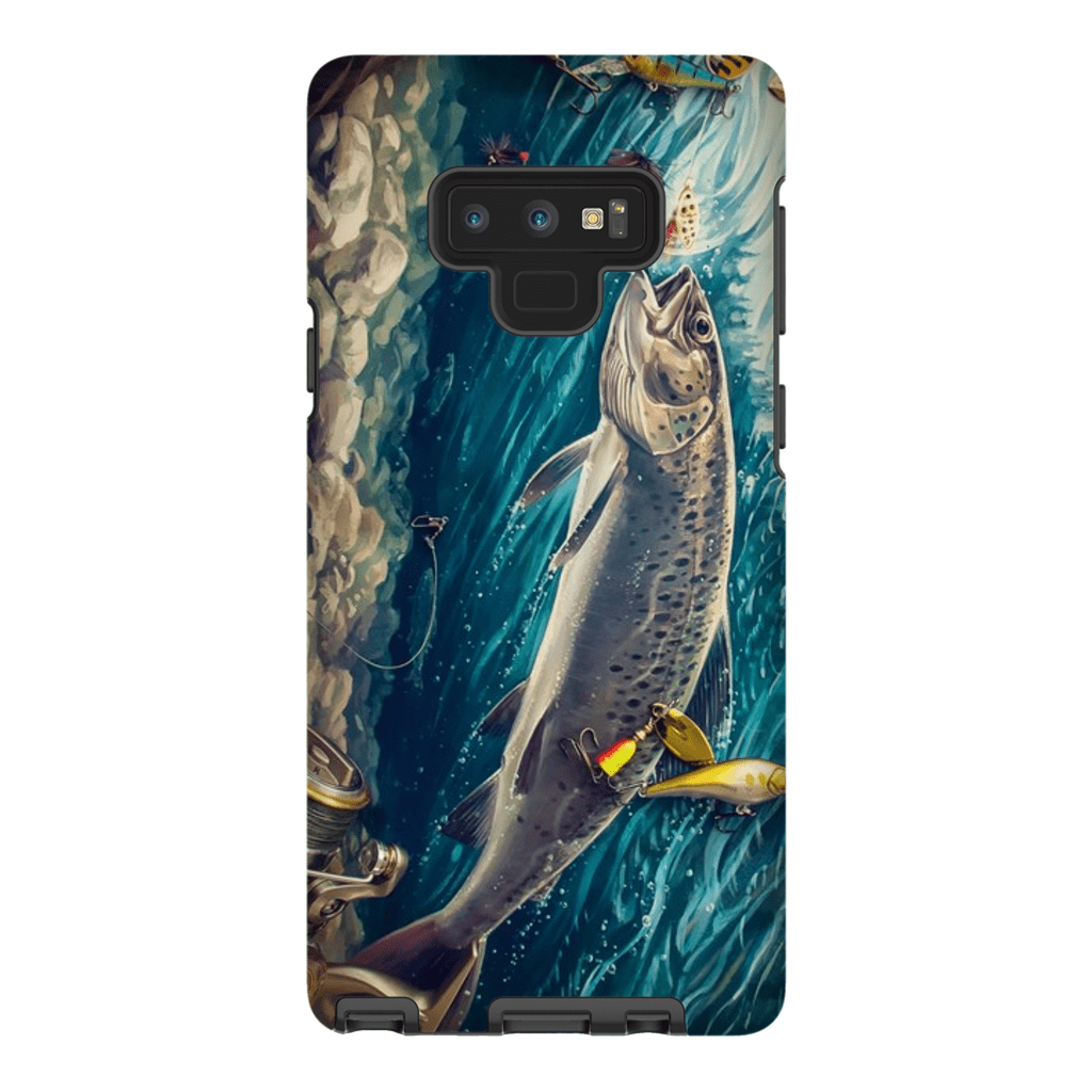Trout Fish Galaxy Note 8 and 9 Tough Case - Purdycase