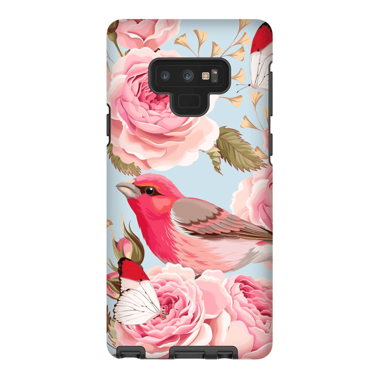 Red Bird Rose Galaxy Note 8 and 9 Tough Case - Purdycase