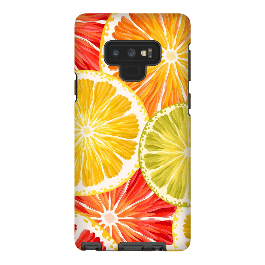 Orange Citrus Galaxy Note 8 and 9 Tough Case - Purdycase