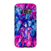 Pink Blue Abstract Galaxy S7 and S7 Edge Tough Case