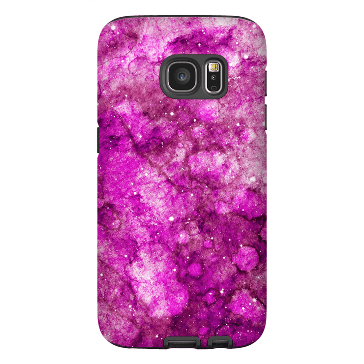 Pink Space Galaxy S7 and S7 Edge Tough Case