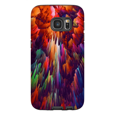 Rainbow Abstract Galaxy S7 and S7 Edge Tough Case