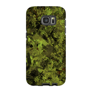 Green Forest Camo Galaxy S7 and S7 Edge Tough Case
