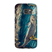 Trout Fish Galaxy S7 and S7 Edge Tough Case