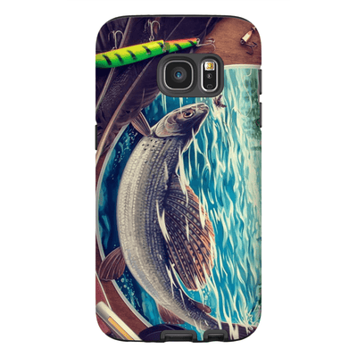 Dolly Varden Trout Fish Galaxy S7 and S7 Edge Tough Case - Purdycase