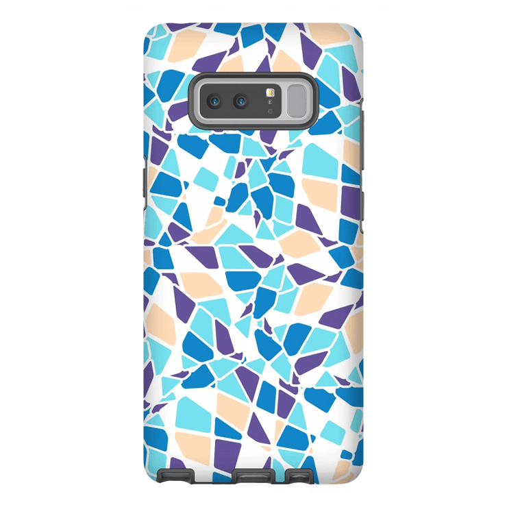 Turquoise Mosaic Galaxy Note 8 and 9 Tough Case - Purdycase