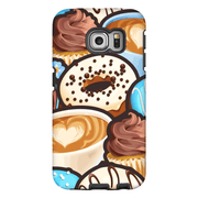 Blue Donut Galaxy S6 Edge and S6 Edge Plus Tough Case