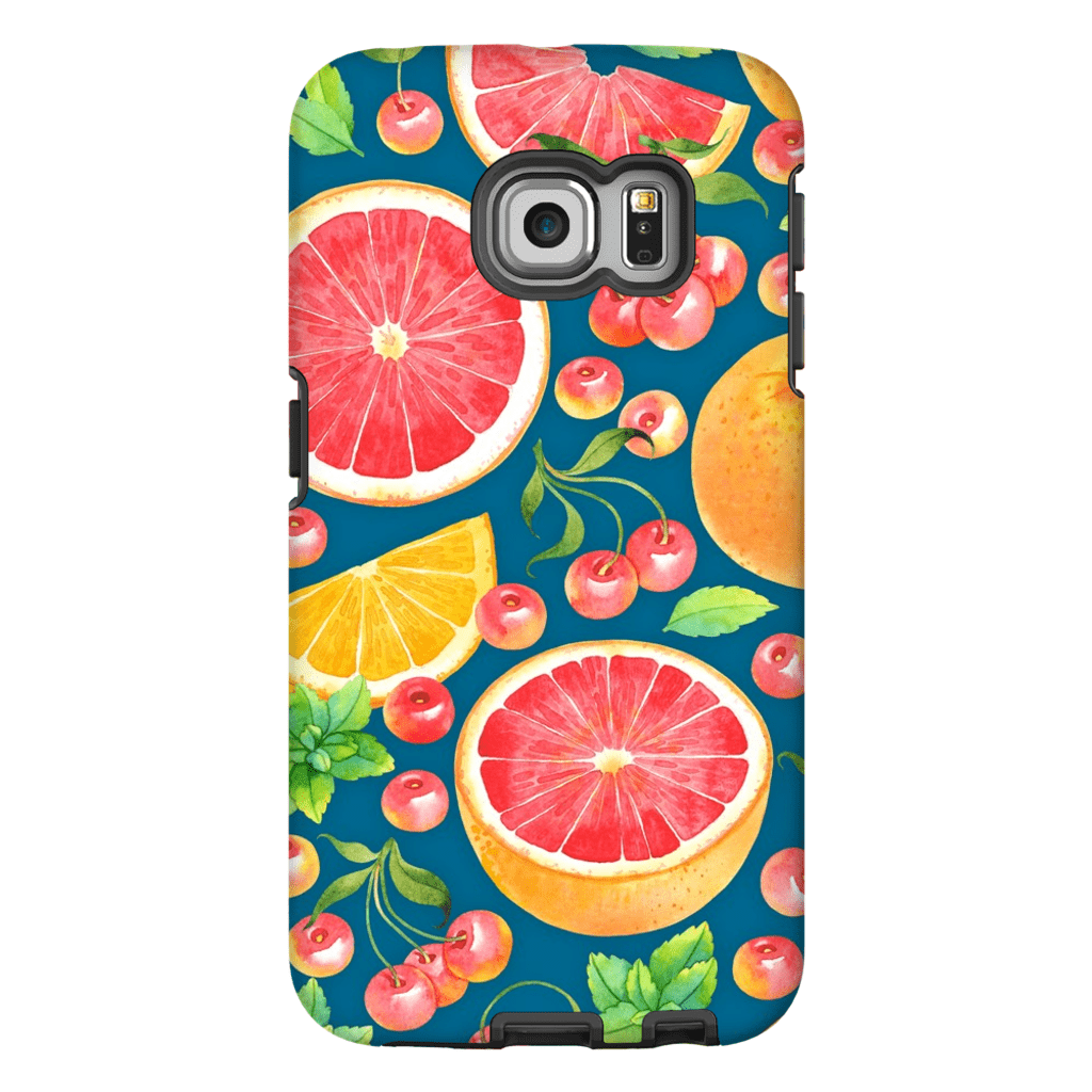 Grapefruit Galaxy S6 Edge and S6 Edge Plus Tough Case - Purdycase