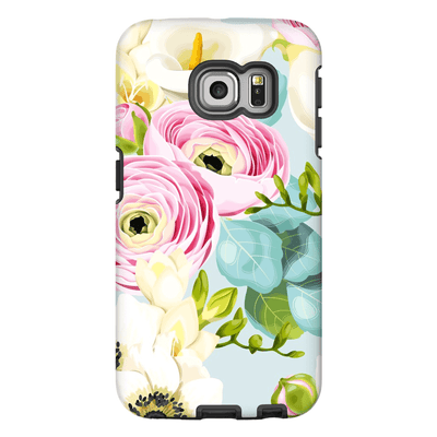 Pinky Blue Rose Galaxy S6 Edge and S6 Edge Plus Tough Case - Purdycase