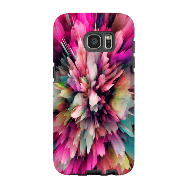 Pink Cloud Abstract Galaxy S6 Edge and S6 Edge Plus Tough Case
