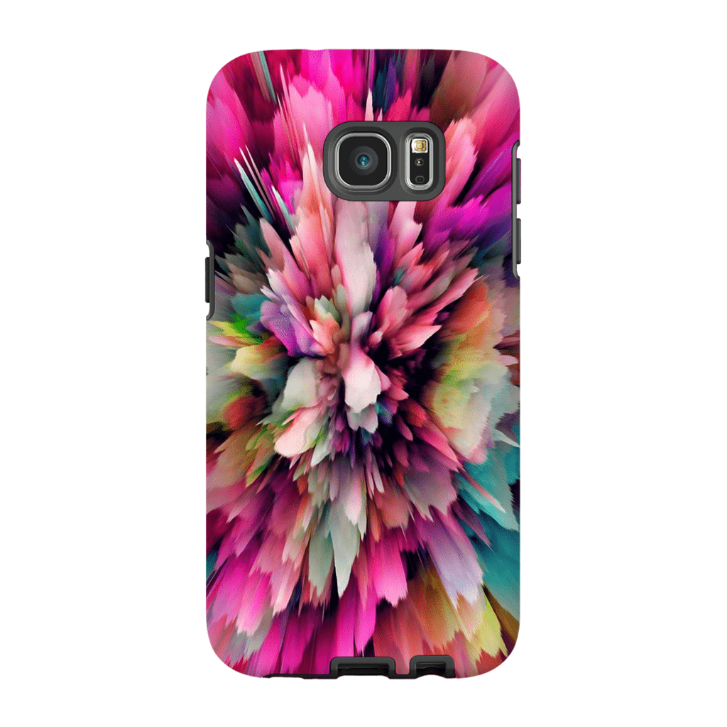 Pink Cloud Abstract Galaxy S6 Edge and S6 Edge Plus Tough Case - Purdycase