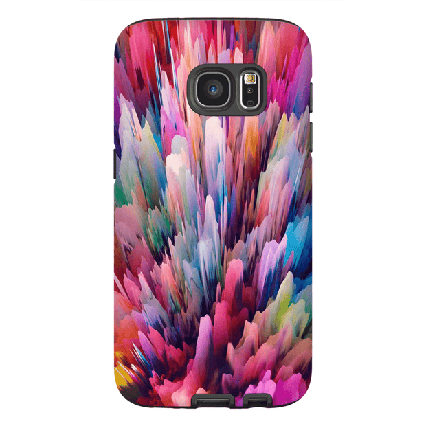 Abstract Explosion Galaxy S6 Edge and S6 Edge Plus Tough Case