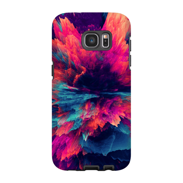 Dark Abstract Galaxy S6 Edge and S6 Edge Plus Tough Case