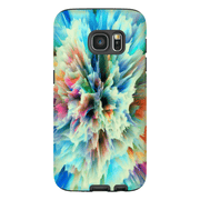 Yellow Abstract Galaxy S6 Edge and S6 Edge Plus Tough Case