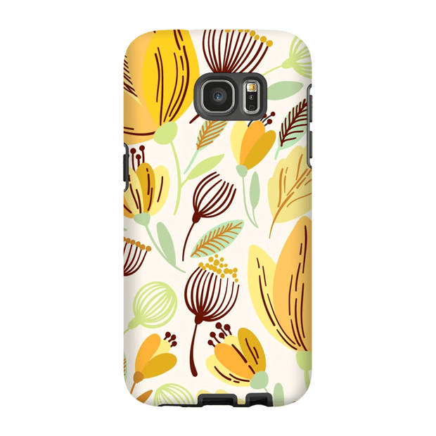 Yellow Leaves Galaxy S6 Edge and S6 Edge Plus Tough Case