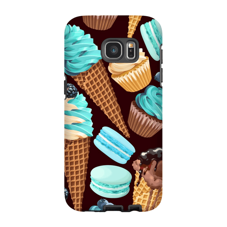 Turquoise Sweets Galaxy S7 Edge and S7 Edge Plus Tough Case - Purdycase