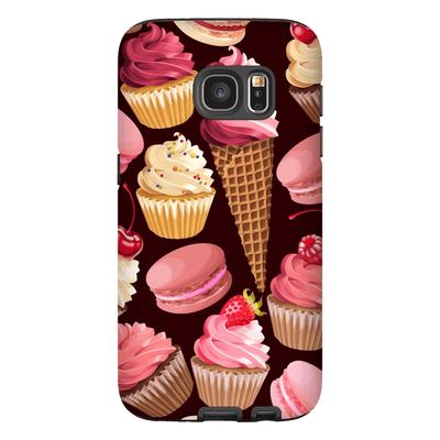 Strawberry Sweets Galaxy S7 Edge and S7 Edge Plus Tough Case