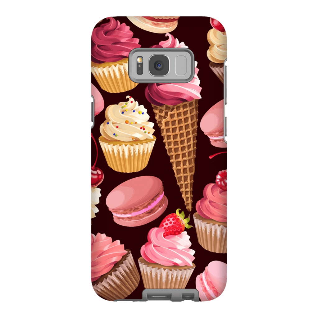 Strawberry Sweets Galaxy S8 and S8 Plus Tough Case - Purdycase