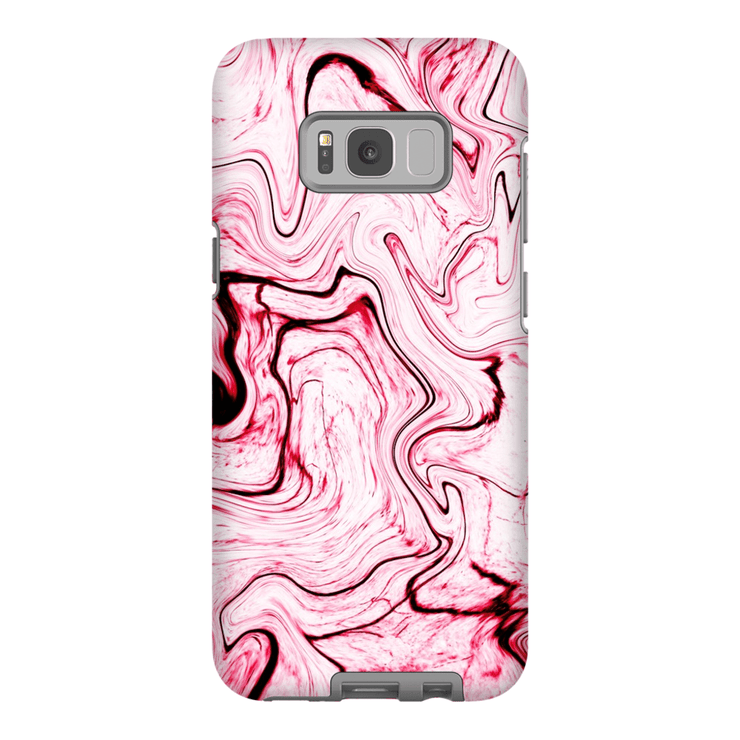 Pink Marble Galaxy S8 and S8 Plus Tough Case - Purdycase