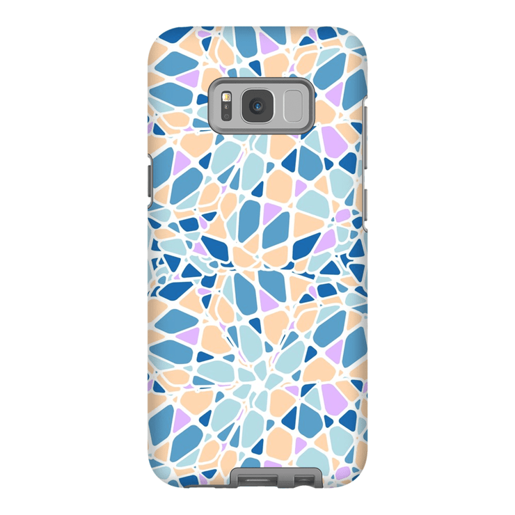 Purple Mosaic Galaxy S8 and S8 Plus Tough Case - Purdycase