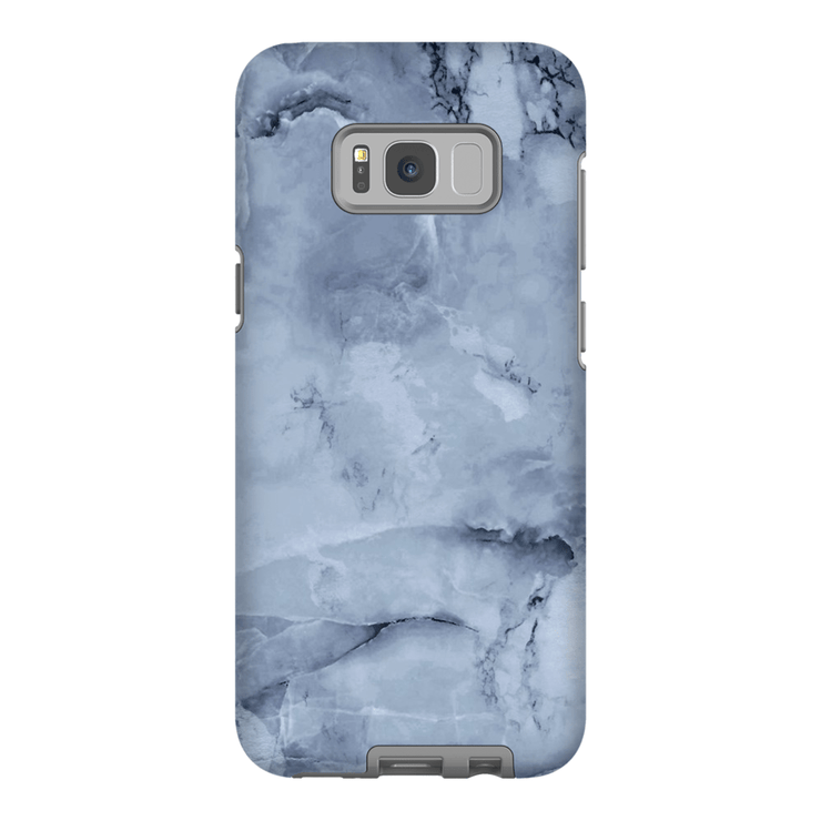Blue Smoke Marble Galaxy S8 and S8 Plus Tough Case - Purdycase