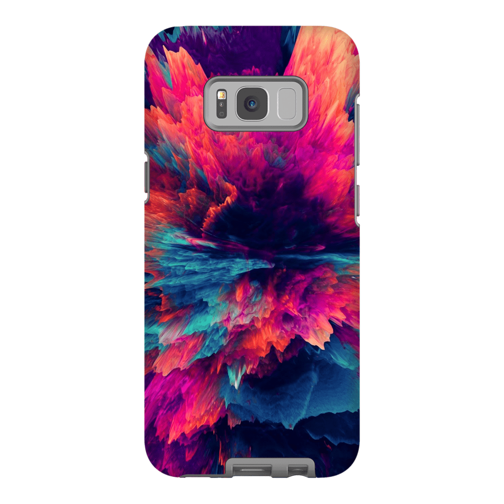 Dark Abstract Galaxy S8 and S8 Plus Tough Case - Purdycase