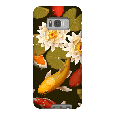 Japanese Koi Pond Galaxy S8 and S8 Plus Tough Case