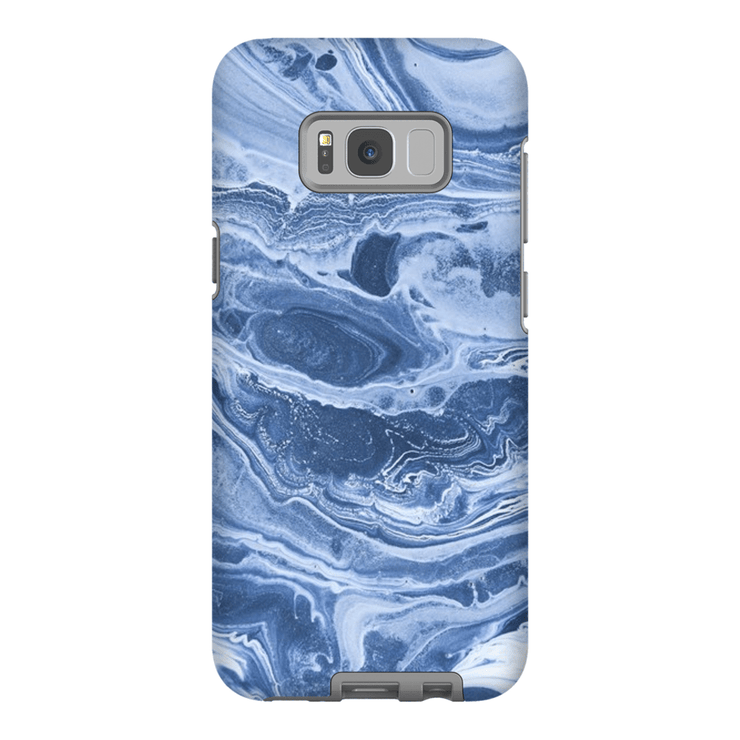 Blue Marble Wave Galaxy S8 and S8 Plus Tough Case - Purdycase