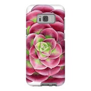 Red Succulent Galaxy S8 and S8 Plus Tough Case - Purdycase