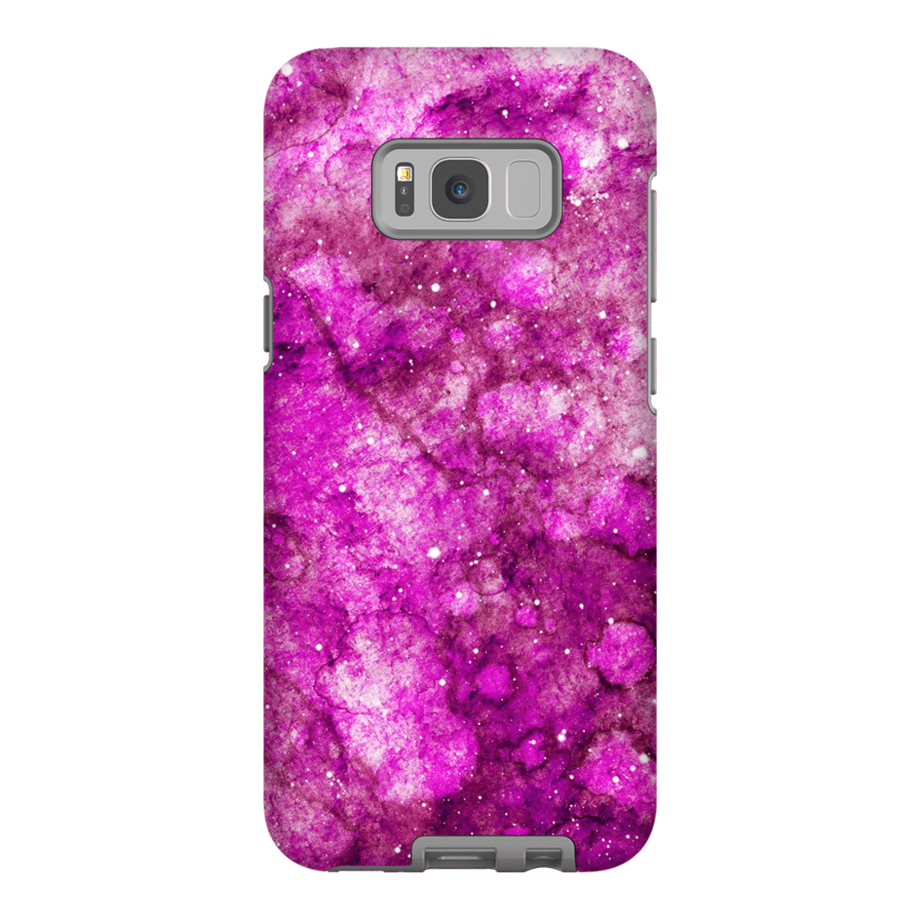 Pink Space Galaxy S8 and S8 Plus Tough Case - Purdycase