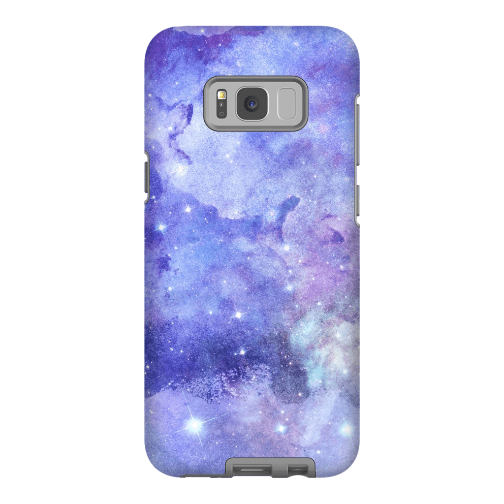 Purple Space Galaxy S8 and S8 Plus Tough Case - Purdycase